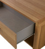 Modern Entertainment Unit with Storage Drawer with SS Handles by AfyDecor