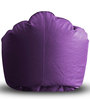 Modern Mooda Rocker XXXL size in Purple Color Colour with Beans by Style Homez