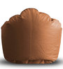 Modern Mooda Rocker XXXL size in Tan Color Colour with Beans by Style Homez