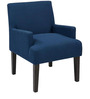 Modern Styled Accent Chair with Track Arms