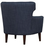 Modern Wingback Chair with Curved Low Back by Afydecor