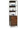 Modular Display Unit cum Bookshelf in Walnut Finish by The ArmChair