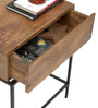 Modular Solid Wood Side Table in Natural Finish by TheArmchair