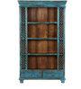 Dexys Blue Color Book Shelf by Bohemiana