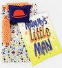 Fancy Fluff Mommy's Little Man 6-Piece Premium Baby Mattress Set