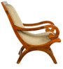 Montagu Arm Chair in Honey Oak Finish by Amberville