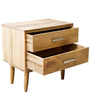 Montana Bed Side Table in Natural Finish by Inliving