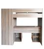 Montana Mezzanine Style High Bed in Grey Oak Finish by Gami