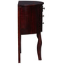 Capell Console Table in Passion Mahogany Finish by Amberville