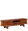 Milton Entertainment Unit in Natural Finish by Woodsworth