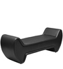 Moods Settee in Black Colour by @home