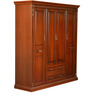 Morrison Red Cherry 4 Door Wardrobe by HomeTown