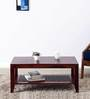 Mossyrock Coffee Table in Honey Oak Finish by Woodsworth