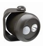 Mr Beams MB310 Wireless LED Mini Spotlight with Motion Sensor & Photocell,Small,80-Lumens,Brown,1-Pack