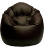 Muddha XXXL Bean Bag Cover in Brown Colour by Sattva