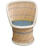 Mudda Cane Chair in Multi Colour by Shinexus