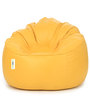 Mudda Chair Filled with Beansin Yellow Colour by Can