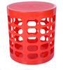 Multi Purpose Stool in Red Colour by Casa Basic