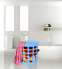 Multi Purpose Stool in Violet Colour by Casa Basic