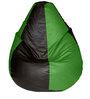 Multicolour Teardrop Bean Bag (With Beans) by Feel Good