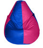Multicolour Teardrop Bean Bag (With Beans) by Feel Good