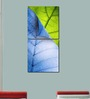 Multiple Frames Green Blue Leaves Art Panels like Painting - 2 Frames