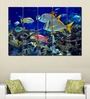 Multiple Frames Printed Fishes in the sea Art Panels like Painting - 5 Frames