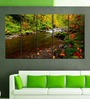 Multiple Frames Printed Forest Flowing River Art Panels like Painting - 5 Frames