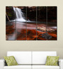 Multiple Frames Printed Forest Fountains Art Panels like Painting - 5 Frames