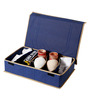 My Gift Booth Non-Woven Blue Clothes Organiser - Set of 3