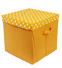 My Gift Booth Multipurpose Cotton Yellow Box
