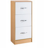 Multipurpose Storage Cabinet with Four Drawers in Multicolour by Pindia