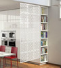 Muse Room Divider in White by Bohemiana