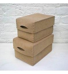 My Gift Booth Felt Beige Box