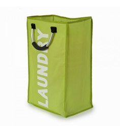 My Gift Booth Nonwoven 35 L Green Laundry Basket