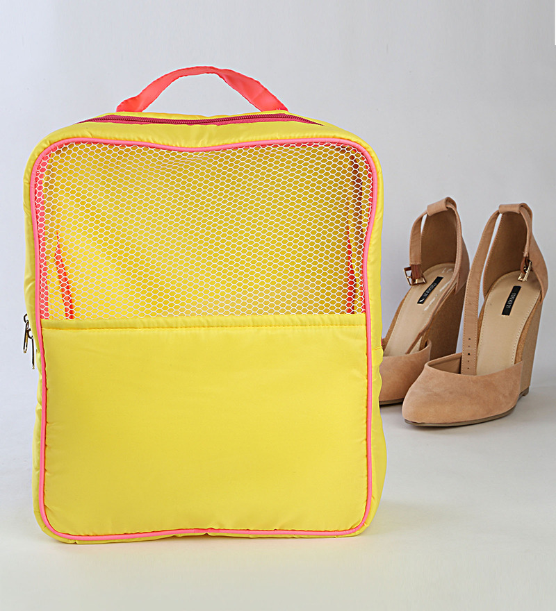 My Gift Booth Nylon Yellow Footwear Organiser