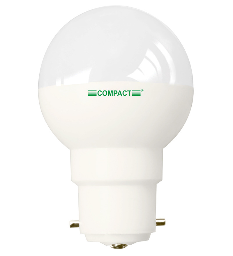My Green Kart Compact Led Bulb 1w B 22 Cool White Pk Of 3 By Compact Online Light Bulbs