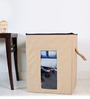 My Gift Booth Non-Woven Beige & Black Storage Box
