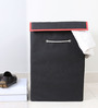 My Gift Booth Non-Woven 20 L Black Laundry Hamper
