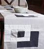 My Gift Booth Blocks Multicolour Linen Table Runner