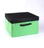My Gift Booth Bright Non-Woven Lime Green 10 L Storage Box