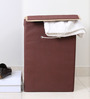 My Gift Booth Non-Woven Brown 20 L Laundry Hamper