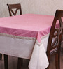 My Gift Booth Check Multicolour Cotton & Linen Table Cover