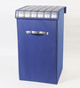 My Gift Booth Non-Woven 35 L Royal Blue Laundry Box