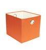 My Gift Booth Nonwoven 10 L Orange Laundry Basket