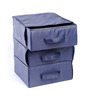 My Gift Booth Nylon Navy Blue 3-tray Drawer