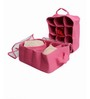 My Gift Booth Lingerie Net Pink Clothes Organiser - Set of 2