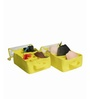 My Gift Booth Lingerie Net Yellow Clothes Organiser - Set of 2