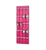 My Gift Booth Non-Woven & Net Pink Door Hanging Shoe Organiser