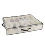 My Gift Booth Non-Woven Cream Under Bed Footwear Organiser